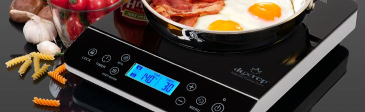 Duxtop LCD 1800W Portable Induction Cooktop Burner