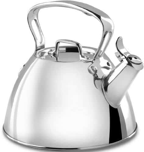 All-Clad E86199 Stainless Steel Speciality Cookware Tea Kettle