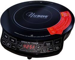 NuWave PIC Titanium 1800W Portable Induction Cooktop Countertop